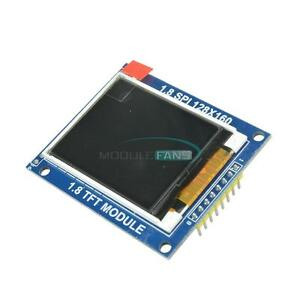Mini 1 8 Inch Serial Spi Tft Lcd Module Display With Pcb St7735b Ic Adapter