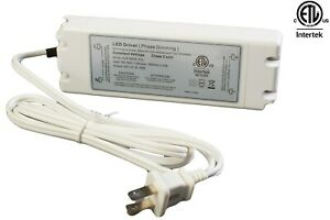Ledupdates 24v 50w Triac Dimmable Power Supply Led Driver Ac To Dc Etl Listed
