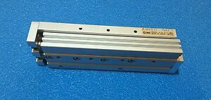 Smc Mxs12 75at Pneumatic Guided Cylinder 12mm Bore 75mm Stroke