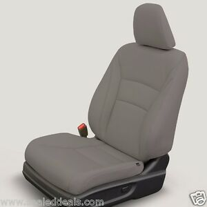 New Honda Accord Lx Sedan Katzkin Gray Leather 2013 2014 2015 2016 2017