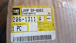 New Caterpillar Lamp Gp basi 206 1311 2061311 Made In Austria