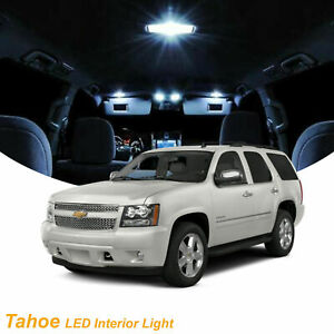 2007 2014 Chevy Tahoe 10x Light Bulbs Smd Interior Led Lights Package Kit