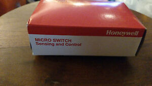 Nib Honeywell Micro Switch 38hm20 Switch Snap Action Spst Long Lever Wire Lead