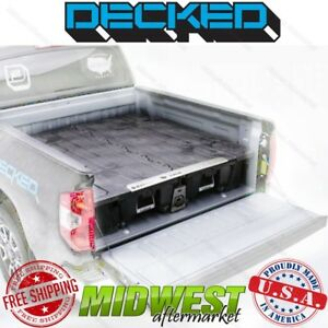 Decked Truck Bed Storage System Fits 2004 2014 Ford F 150 6 7 Bed