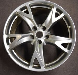 2009 370z Sport Rays Eng Forged Rims W Sensor Factory Oem Front 19 Wheel R3