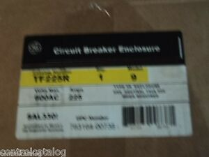 Ge Tf225r New In Box 3r Outdoor Breaker Enclosure Free Shipping Many Available