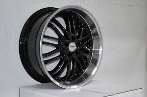 4 Gwg Wheels 20 Inch Black Amaya Rims Fit Et20 Mitsubishi Evo X Widebody 2008 14