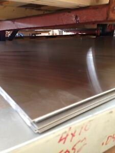 Surplus Aluminum Sheet Plate 080 X 24 X 36 4pc Lot 3003 Alloy