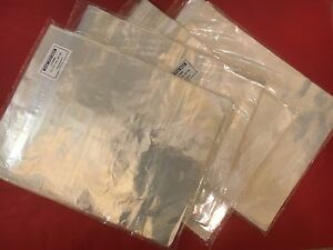 500 Clear 12 X 15 T shirt Poly Bags Flap Lock 1 Mil Shirt apparel Plastic