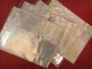 1000 12 X 15 Clear Poly Bags Flap Lock 1 Mil Shirt apparel Plastic