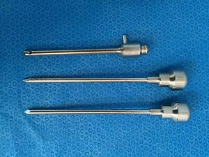 Dyonics Cannula With 1992 Obturator And 1995 Trocar