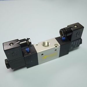 3 8 Pneumatic 3 2 Way Electric Control Solenoid Valve Double Coil 3v320 10 24v