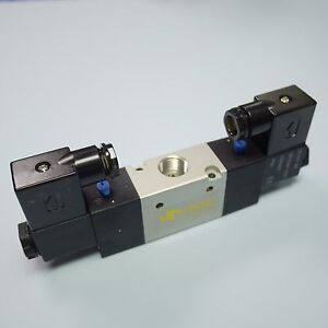 3 8 Pneumatic 3 2 Way Electric Control Solenoid Valve Double Coil 3v320 10 12v