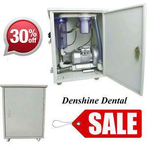 390w Portable Vacuum Suction System For 3 Dental Chair Dentist Treatment Units