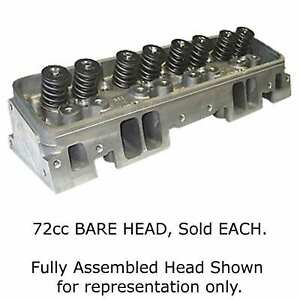 World Products 012260 Engine Cylinder Head Sbc 72cc Bare 2 02 1 600 87 Straigh
