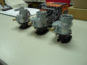 Chevy Chevrolet 283 327 350 383 Tripower 3 Dueces Big97 Stromberg 97 Carburetors