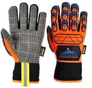 Portwest Thinsulate Aqua Seal Pro Glove Lined Warm Dry Safe From Impact A726