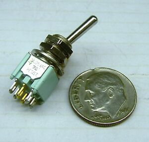 Alco Tt23n9t1 4 Nos Toggle Switch 3amp 125 Vac 28vdc Us Military
