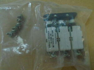 1 Ea Nos 10 Amp Circuit Breaker Used On Various Aircraft P n G c20b 10