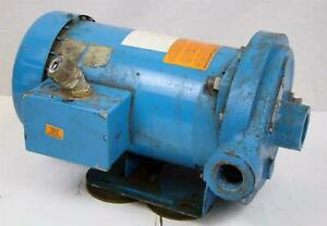 Goulds Mcc Centrifugal Pump 1mc1g5a0 208 230 460v 3ph