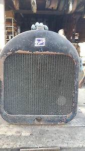 1918 1919 1920 Six Cylinder Buick Radiator And Shell