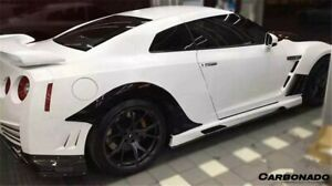 2008 2016 R35 Gtr Carbon Fiber Rear Wheel Fender Flares For Nissan Gtr Body Kit