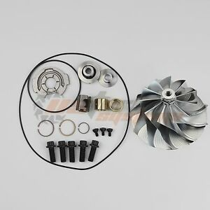 06 07 Gmc Duramax 6 6l Lbz Gt3788va Turbo Rebuild Kit Billet Compressor Wheel