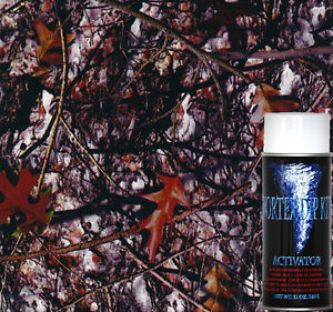 Hydrographics Film Hydro Dipping Hydrographic Activator Kit Hideout Camo