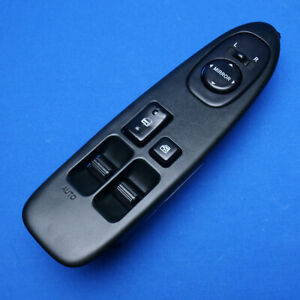 1994 1999 Toyota Celica Driver Master Window Switch Left Power Control Black