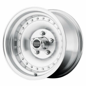 American Racing Ar61 Outlaw I Rim 15x7 5x4 5 Offset 6 Mach clearcoat qty Of 1