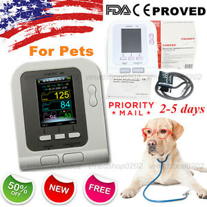 Us Seller vet Veterinary Digital Blood Pressure Monitor 6 11cm Bp Cuff For Pets