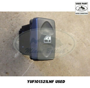 Land Rover Front Window Lift Switch Discovery 2 Ii Freelander Yuf101521lnf Used