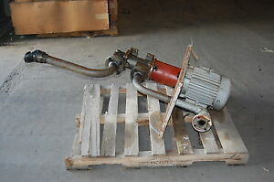 Imo A3dkh 156 Centrifugal Sump Pump Teco Electric Motor 5 5 Hp 2 X 1 1 2 460v