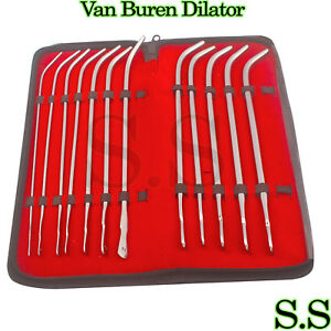 New O r Grade 12 Ea Van Buren Dilator Urithral Sounds Sets Ob gyn Surgical