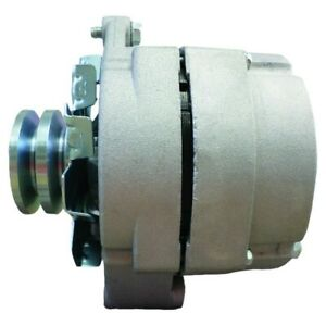 New Alternator For Tractor Chevy 10si 1 wire One Wire With 2 Groove Pulley