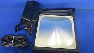 3m Portable Overhead Projector W power Cord 589 location F3