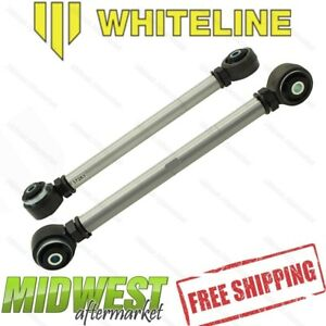 Whiteline Adj Rear Lower Control Arms Assembly Fits 2011 2014 Ford Mustang