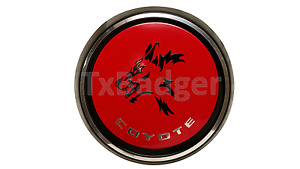 Trunk Badge Mustang Coyote Rear Deck Decklid Gas Cap Emblem New Style L K
