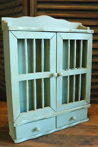 Small Old Wall Cabinet Cupboard Hanging Cabinet In Wood