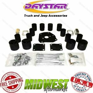 Daystar 3 X 3 Front Rear Body Lift Kit Fits 1989 1995 Toyota Pickup 4wd