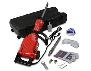 New Xtremepower Electric Demolition Hammer Case And Bits Breaker Concrete Hd
