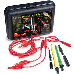 Power Probe Lead Set Wire Piercing Diagnostic Combo Kit 10 Gauge Tester Tool New