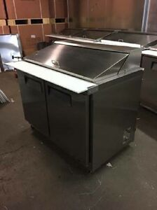 Universal Coolers Restaurant Equipment 48 Sanwich Prep Mega Top