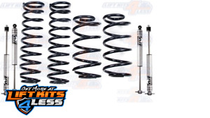 Bds Suspension 447h 2 Coil Spring Lift Kit For 1999 2004 Jeep Grand Cherokee Wj