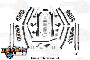 Bds Suspension 477h 4 5 Long Arm Lift Kit 1997 2006 Jeep Wrangler Tj