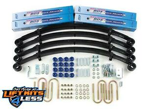 Bds Suspension 408h 2 Lift Kit For 1987 1995 Jeep Wrangler Yj 2wd 4wd Gas