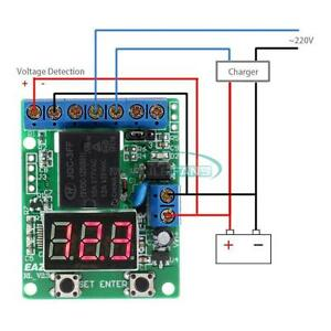 Multi function Voltage Control Relay Timer Delay Switch Voltage Protection 12v