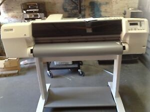 Hp Designjet 2500cp Large Format Color Inkjet Printer Plotter
