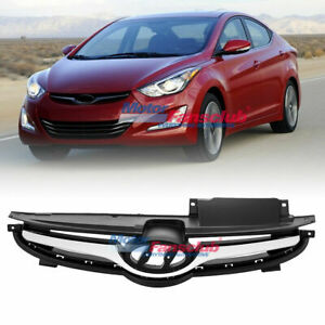 Chrome Front Bumper Grill Grille For Hyundai Elantra 2011 2012 2013 863503x200