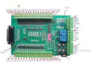 Cnc Breakout Board Mach3 Emc2 Db25 Interface Board With Relay Spindle Control